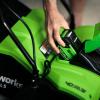 vstavljanje baterija greenworks